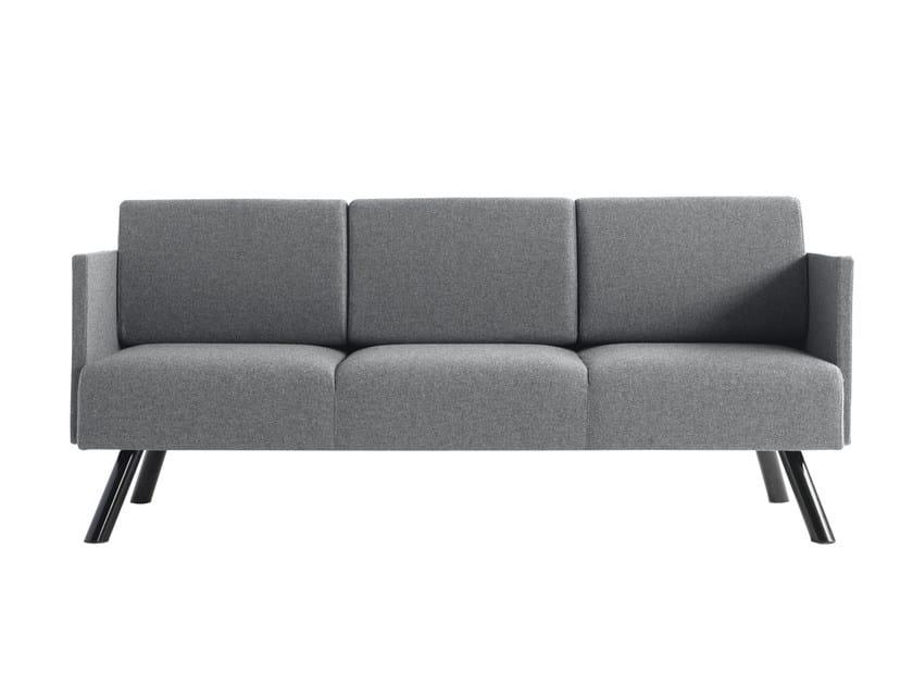 3 seater fabric sofa Nomad 824 - Metalmobil