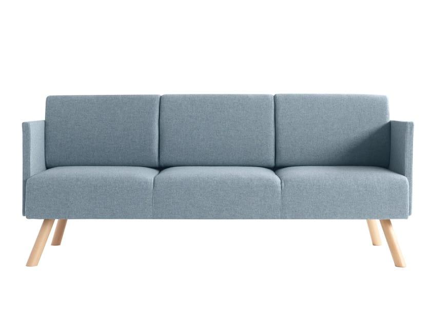 3 seater fabric sofa Nomad 828 - Metalmobil