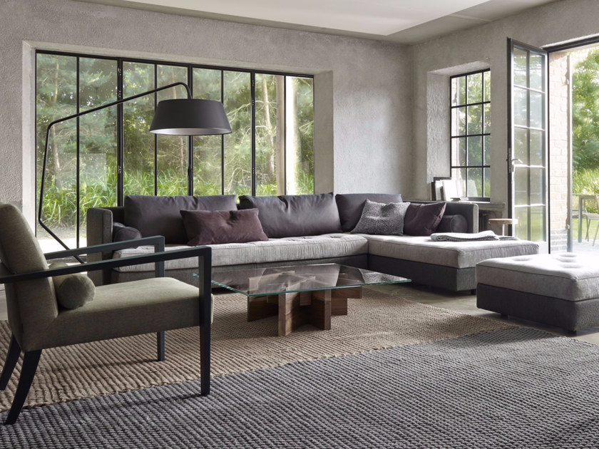 sectional modular fabric sofa nomade 2 by roset italia design didier gomez. Black Bedroom Furniture Sets. Home Design Ideas