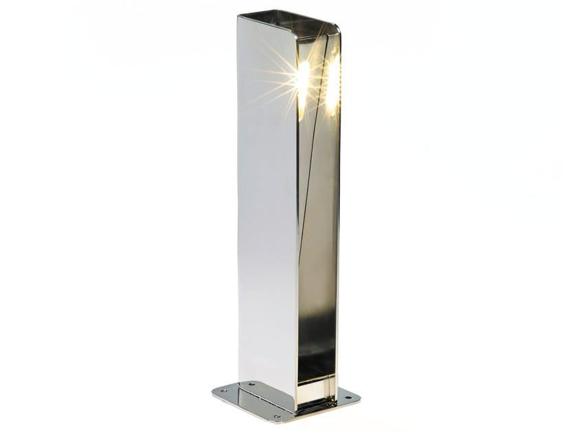 Garden stainless steel bollard light NON-SIDE - ROYAL BOTANIA