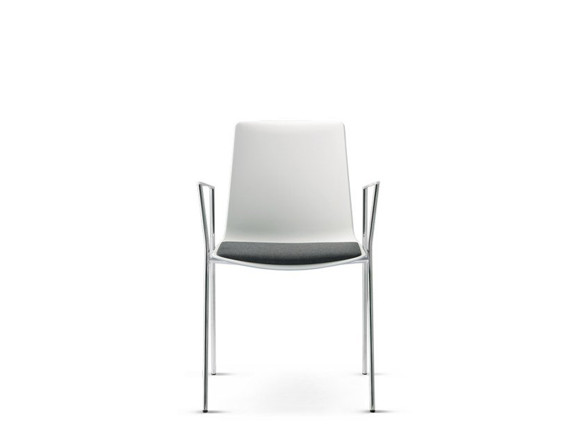 Stackable chair with armrests NOOI | Chair with armrests - Wiesner-Hager