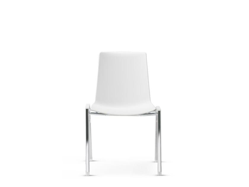 Sedia impilabile NOOI | Sedia in polipropilene - Wiesner-Hager