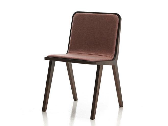 Upholstered fabric chair NORDIC | Chair - Altinox Minimal Design
