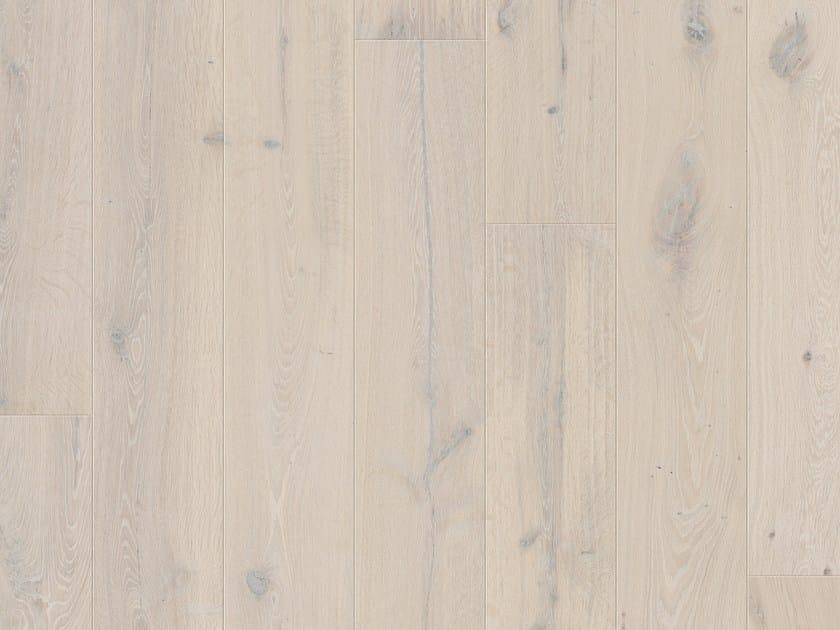 Brushed oak parquet NORDIC POLAR OAK by Pergo