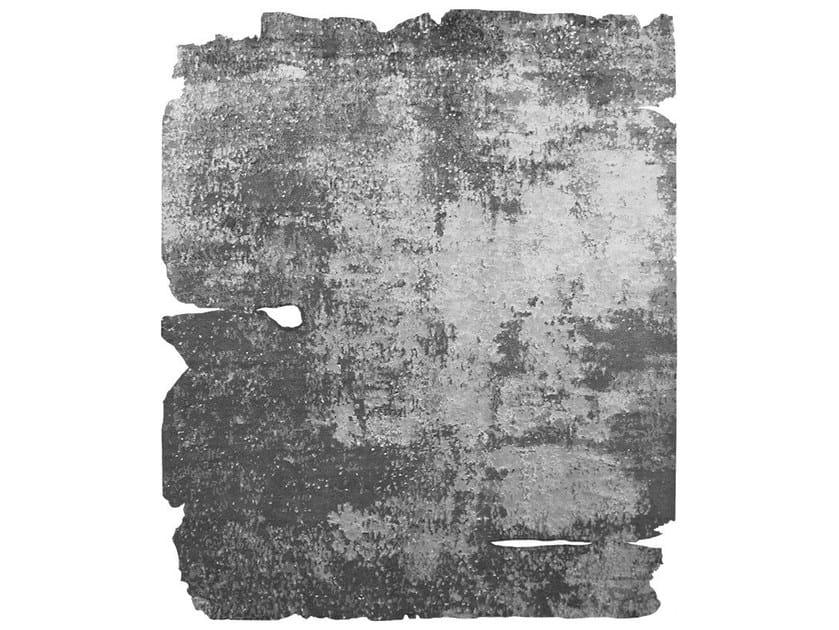 Handmade rug NORRHULT LAERKEVEJ RAW ICE CUT - HENZEL STUDIO