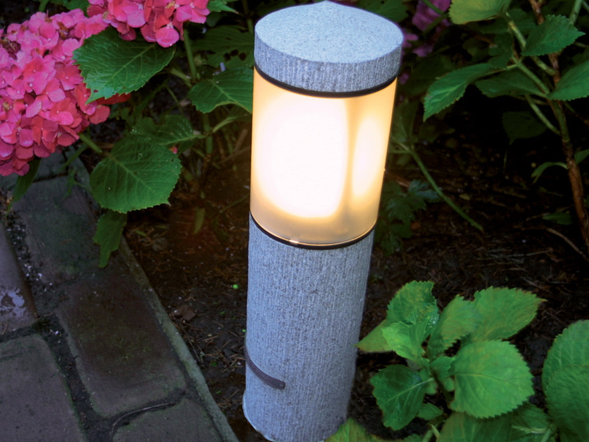 Granite bollard light NORTHPOLE | Granite bollard light - ROYAL BOTANIA