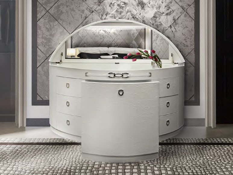 Mobile toilette in pelle NOTTING HILL | Mobile toilette by Formitalia Group