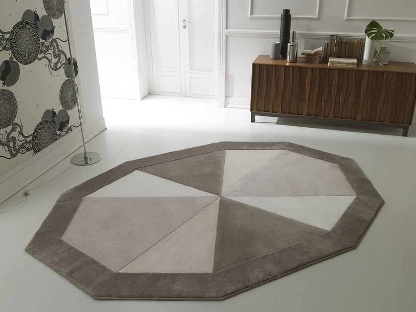Handmade fabric rug NOTTING HILL - Besana Moquette