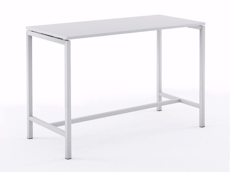 Rectangular high table NOVA | High table by NARBUTAS