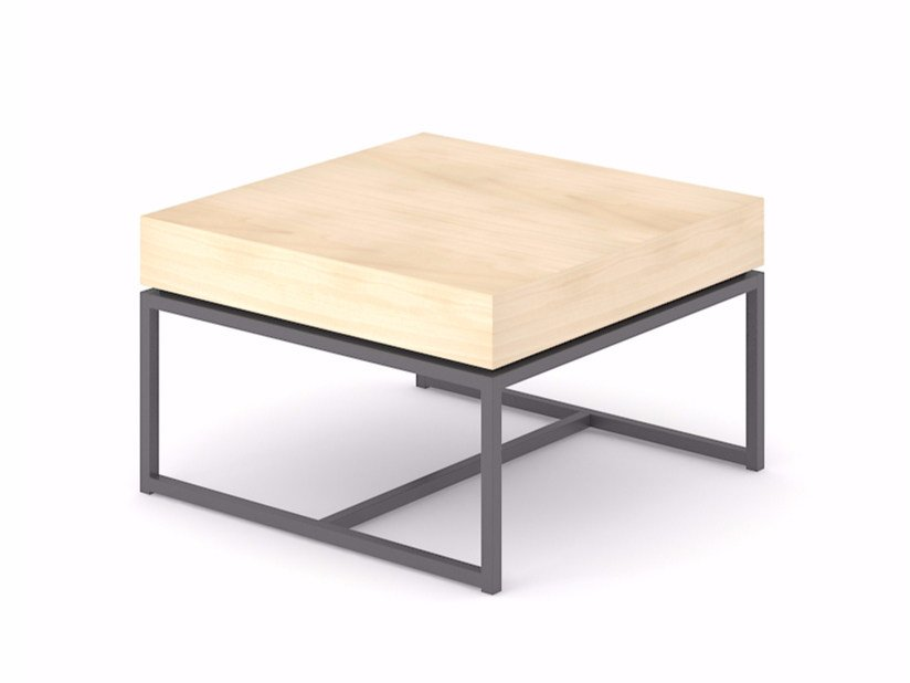 Square coffee table NOVUS by NARBUTAS