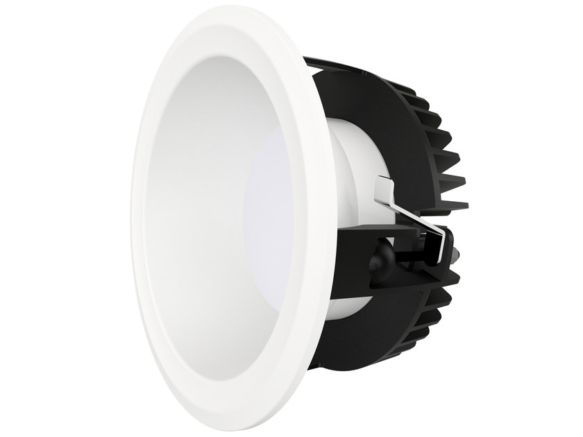 lampe encastrer led ronde ns10 by normasym. Black Bedroom Furniture Sets. Home Design Ideas