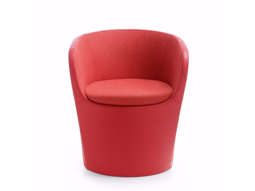 Easy chair with armrests NU SPIN 20FU by profim