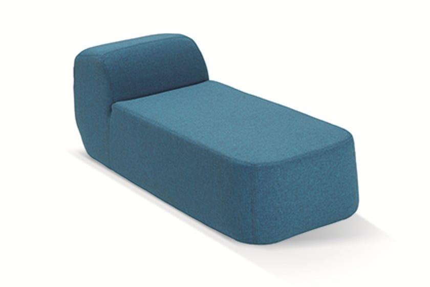 Upholstered polyurethane day bed NUDA BABY | Kids pouf - Adrenalina
