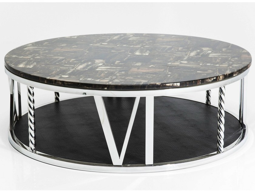 Round coffee table for living room NUMERICS - KARE-DESIGN