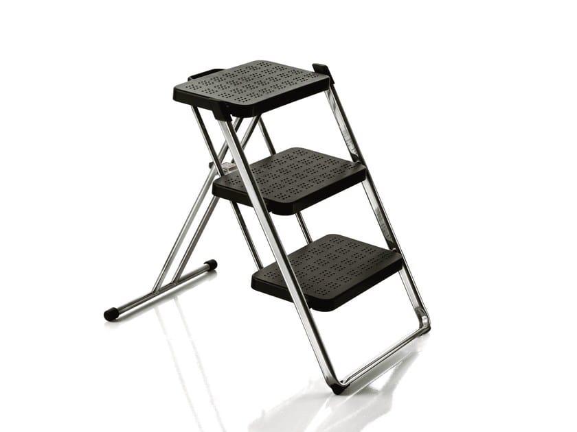 Folding steel step stools NUOVASTEP by Magis