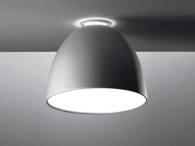 Direct-indirect light ceiling lamp NUR MINI | Ceiling lamp by Artemide