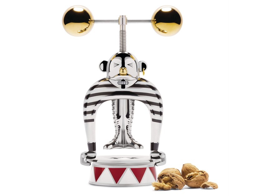 Stainless steel nutcracker THE STRONGMAN - ALESSI