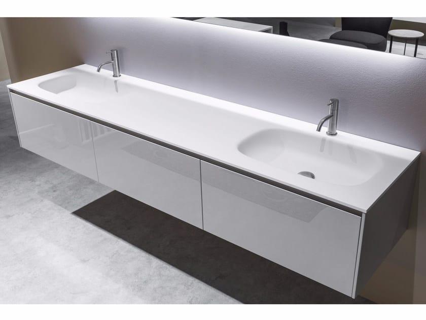 lavabo in flumood con piano nuvola antonio lupi design. Black Bedroom Furniture Sets. Home Design Ideas