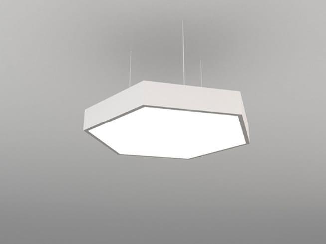 LED pendant lamp NZF H 600/900/1200 | Pendant lamp - Neonny