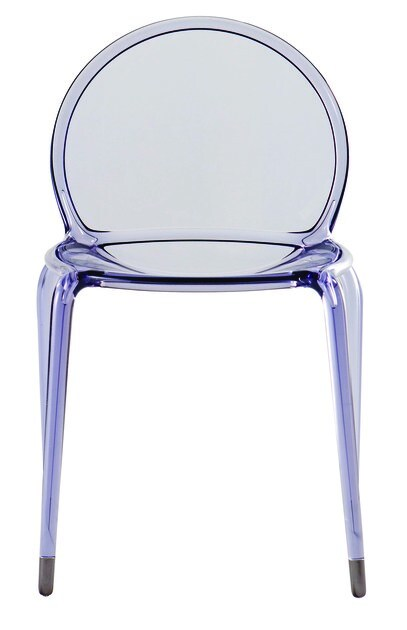 Polycarbonate chair o2 by roche bobois - Roche bobois chaises ...