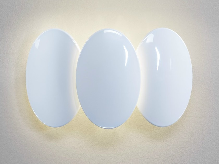 LED indirect light wall light OBOLO 6486 by Milan Iluminación