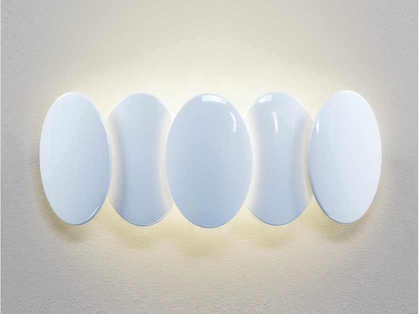 LED indirect light wall light OBOLO 6487 by Milan Iluminación