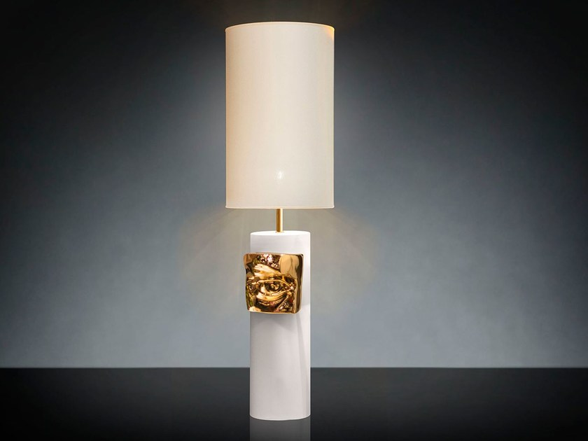 "Ceramic table lamp ""DAVID BY MICHELANGELO"" EYE by VGnewtrend"