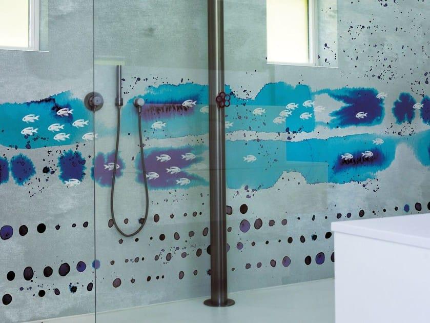 Motif wallpaper OCEAN DROPS by Wall&decò
