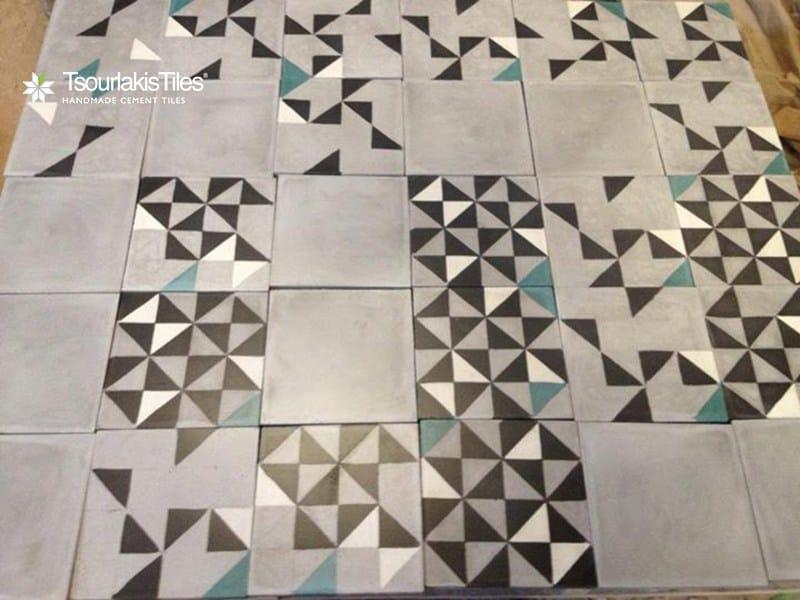 Pavimento/rivestimento in cemento per interni ed esterni ODYSSEAS 202 - TsourlakisTiles