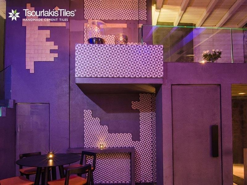 Indoor/outdoor cement wall/floor tiles ODYSSEAS 202 by TsourlakisTiles
