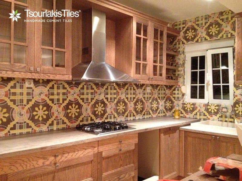 Indoor/outdoor cement wall/floor tiles ODYSSEAS 294 - TsourlakisTiles