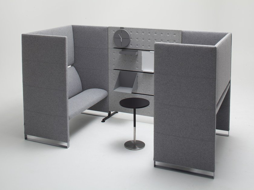 Fabric office booth PLUS | Office booth by BALMA