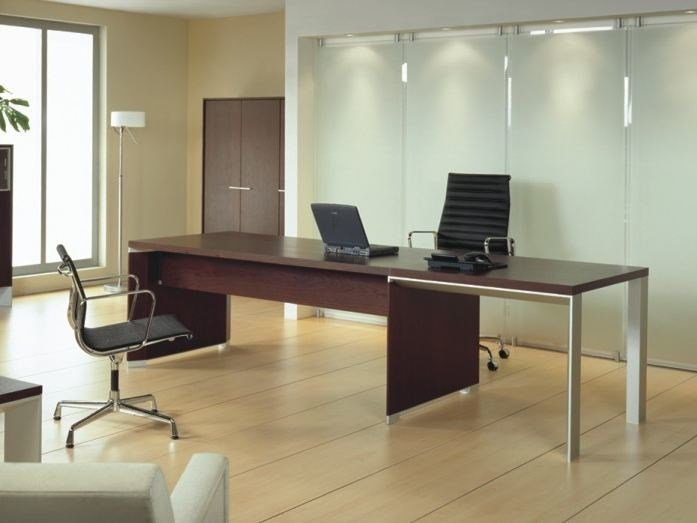 Rectangular executive desk IN | Executive desk - BALMA