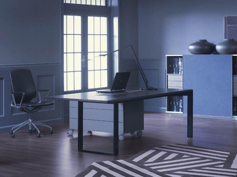 Rectangular executive desk MIXT | Office desk - BALMA