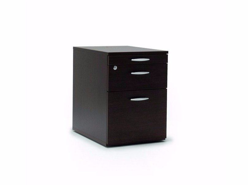 Office drawer unit with lock Office drawer unit - Quadrifoglio Sistemi d'Arredo