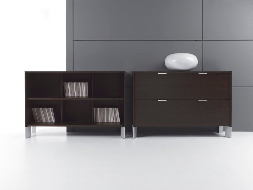 Low Modular office shelving IN | Office shelving - BALMA