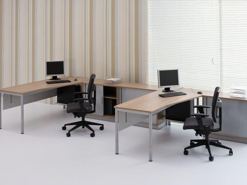 Multiple office workstation G4 | Office workstation - BALMA