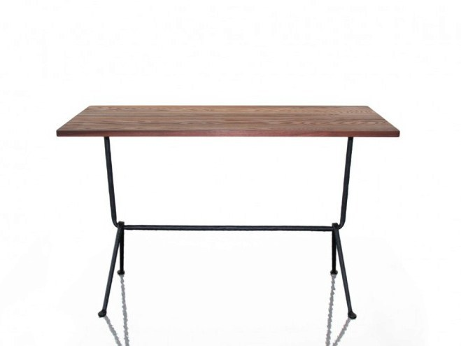 Rectangular walnut table OFFICINA | Walnut table - Magis