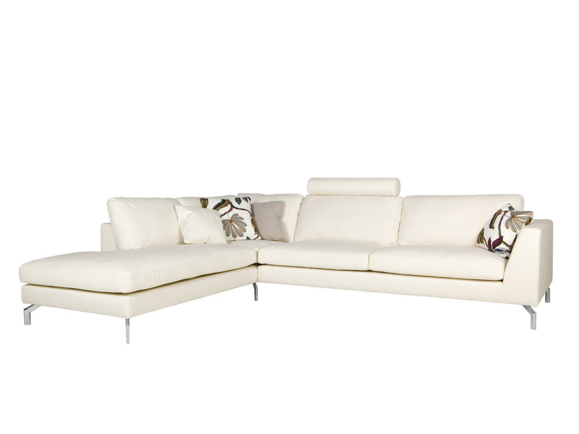 5 seater corner sectional fabric sofa OHIO | Sectional sofa by SITS