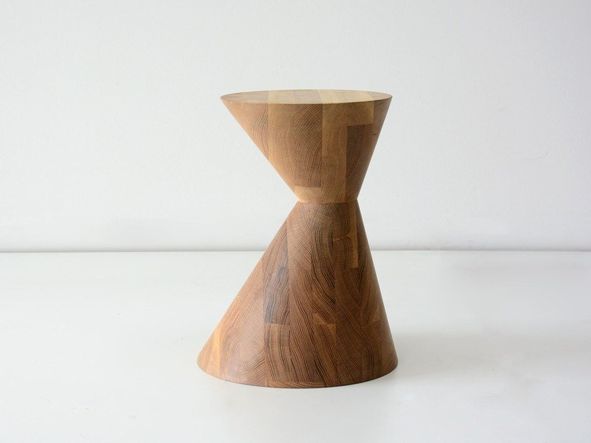 Solid wood stool / coffee table OLDTOWN - hollis+morris