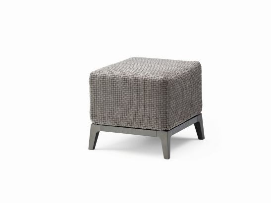 Fabric pouf OLIVIER | Pouf - Flou