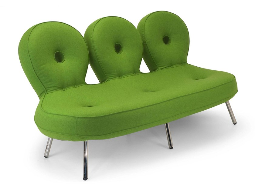 3 seater sofa with fire retardant padding OLO | Sofa - Adrenalina