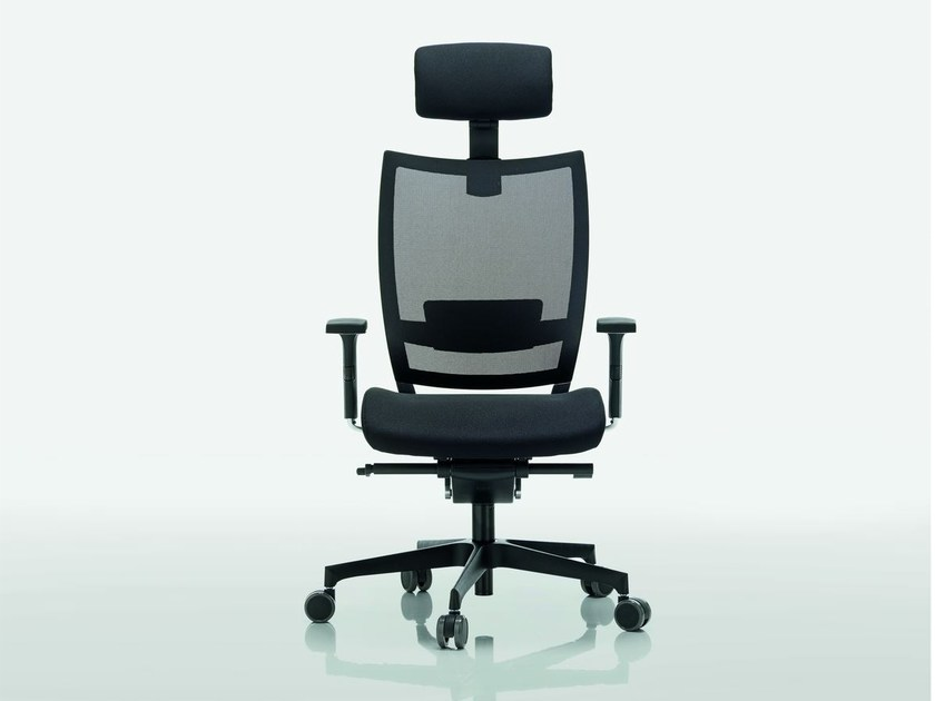 Mesh task chair with 5-Spoke base OMBRA | Mesh task chair - Quadrifoglio Sistemi d'Arredo