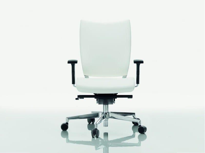 Task chair with 5-Spoke base OMBRA | Task chair - Quadrifoglio Sistemi d'Arredo