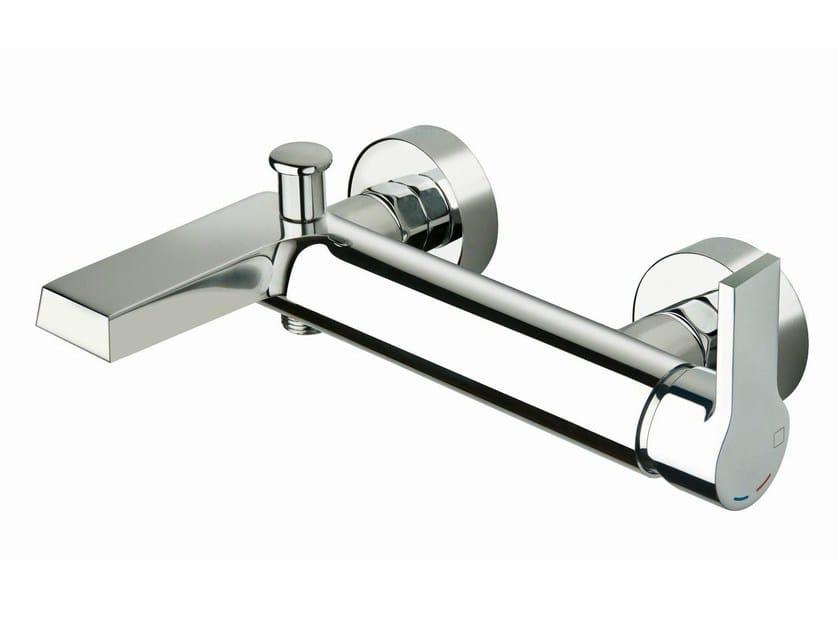 Wall-mounted bathtub mixer OMEGA | Bathtub mixer - CRISTINA Rubinetterie