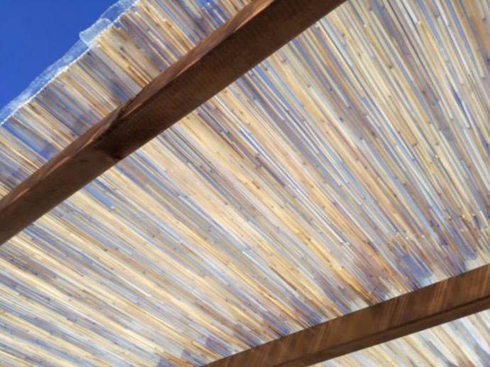 Polycarbonate and bamboo sheet ondabamboo® by Medacciai