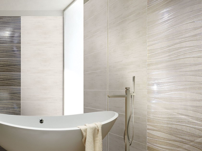 White-paste wall tiles NEXT ONDE by CERAMICHE BRENNERO