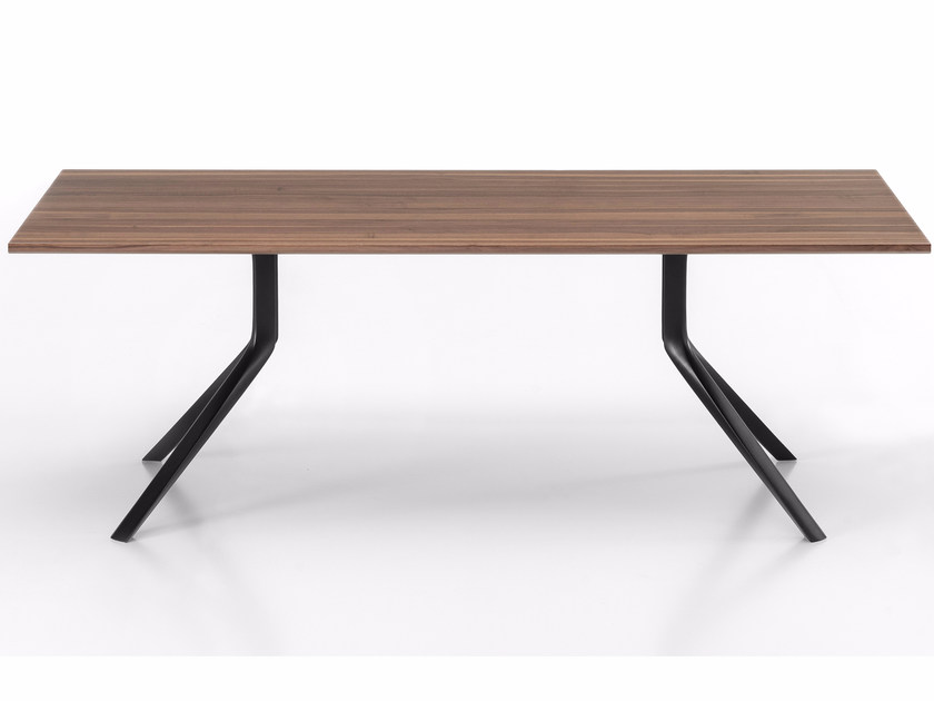 Rectangular wooden table OOPS I DID IT AGAIN | Rectangular table - Kristalia