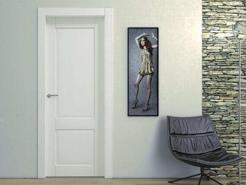Hinged wooden door OPERA SECONDA - Pail Serramenti