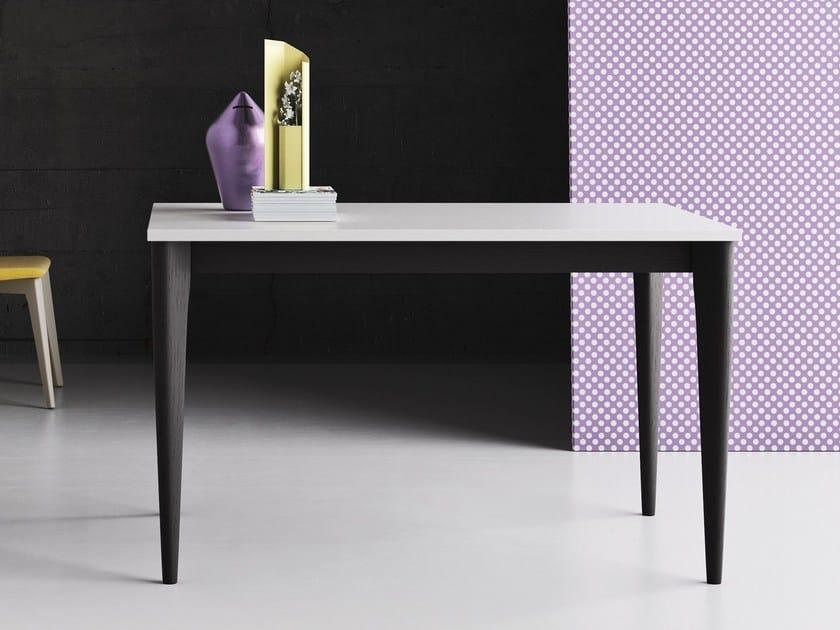Tavolo quadrato in legno massello per contract OPERÀ | Tavolo quadrato by Imperial Line